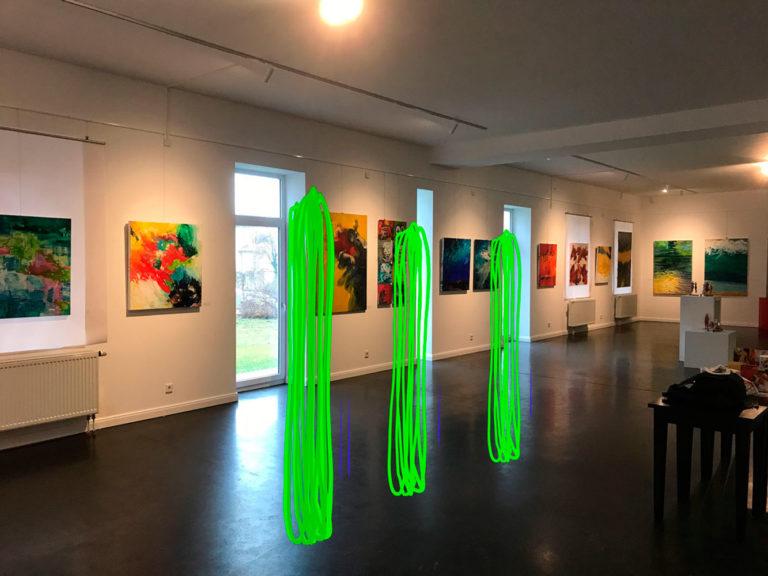 Montage, Neonobjekte